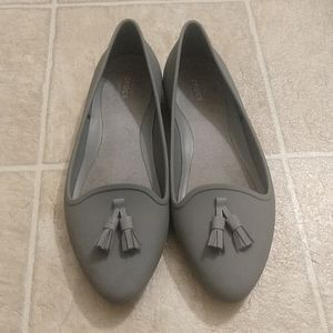 Grey loafer Crocs